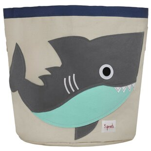 Affordable Shark Storage Fabric Bin By3 Sprouts