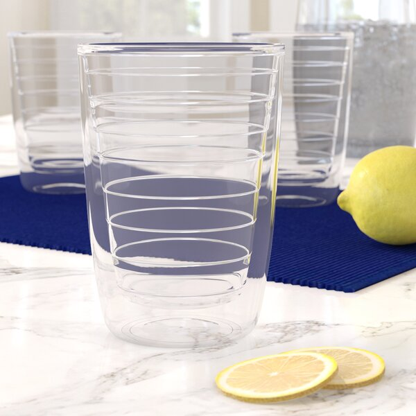 Chicago 16 oz. Plastic Every Day Glass (Set of 4) by Highland Dunes