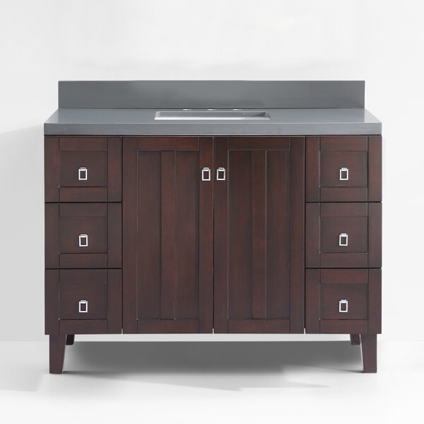 Lares 48 Single Bathroom Vanity Set by Latitude Run