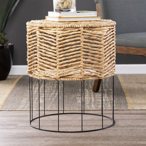 Bohanan End Table by Bungalow Rose