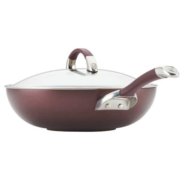 Symmetry Hard-Anodized Non-stick 12 Essential Pan with Lid by Circulon
