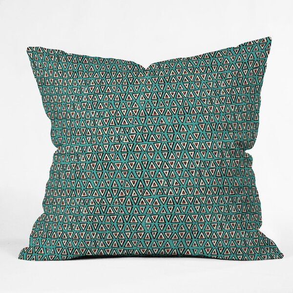 Sharon Turner Aziza Shakal Indoor/Outdoor Throw Pillow by East Urban Home