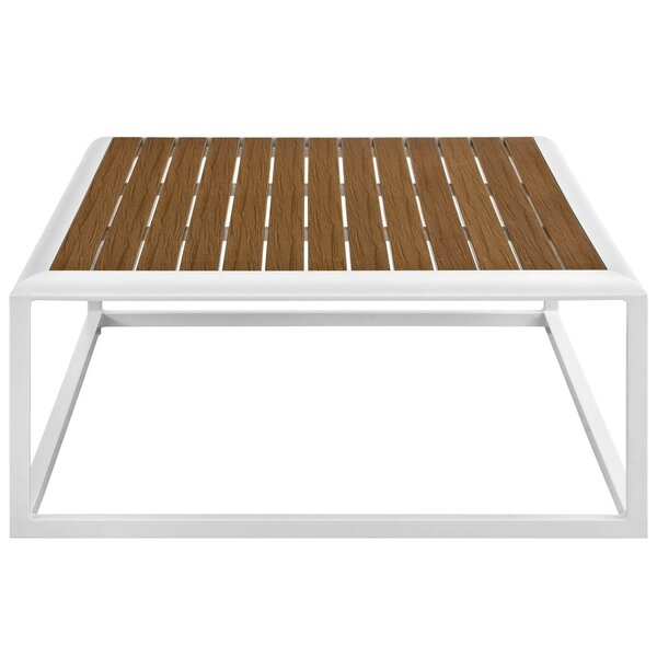 Rossville Plastic/Resin Coffee Table by Ivy Bronx