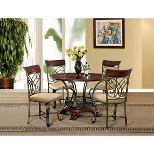 Nalston 5 Piece Dining Set By Fleur De Lis Living