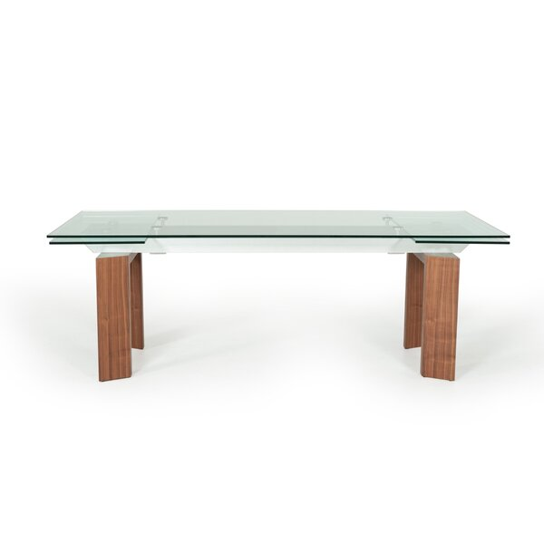 Bargain Carter Extendable Dining Table By Wade Logan Today Only Sale