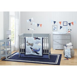 Affordable Carter's Take Flight Fitted Crib Sheet By Carter's®