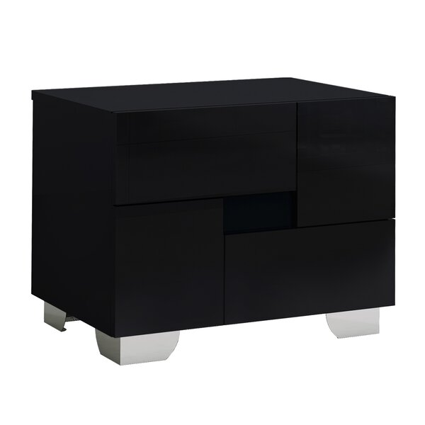 Jayda 2 Drawer Nightstand by Orren Ellis