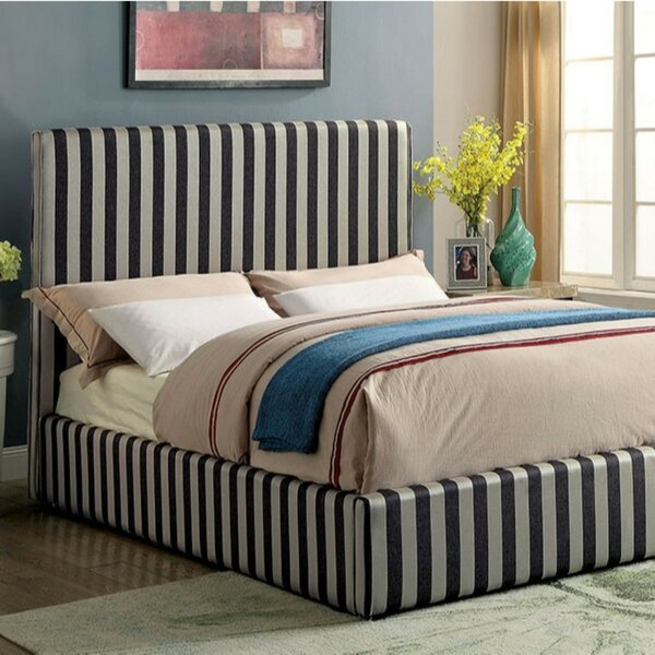 Matelles Contemporary Upholstered Platform Bed by Latitude Run