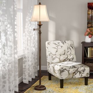 Inexpensive Lansing 61.5 Swing Arm Floor Lamp By Alcott Hill