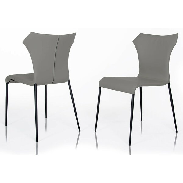 Calmar  Upholstered Dining Chair (Set Of 2) By Wade Logan