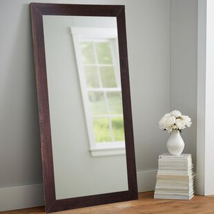 Adalwin Dark Walnut Leaning Accent Wall Mirror ByDarby Home Co
