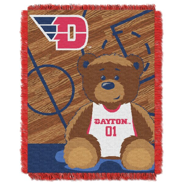 Collegiate Dayton Fullback Baby Blanket by Northwest Co.
