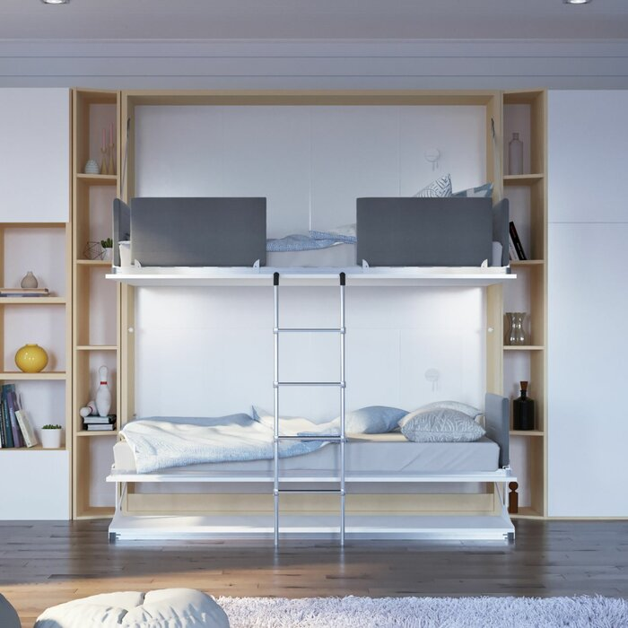 system new murphy twin bed letto wall leto parete