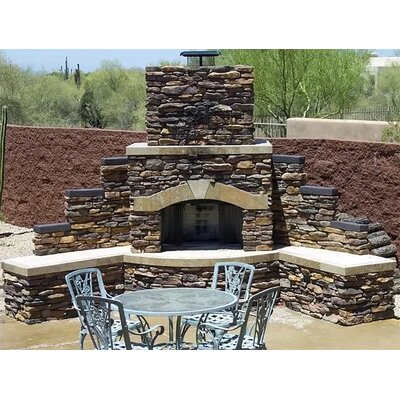 Extra Large Outdoor Fireplaces & Fire Pits You'll Love in ... on Quillen Steel Wood Burning Outdoor Fireplace id=26308