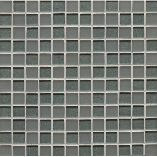 Contempo Glass 0.94 x 0.94 Glass Field Tile in Blue by Grayson Martin