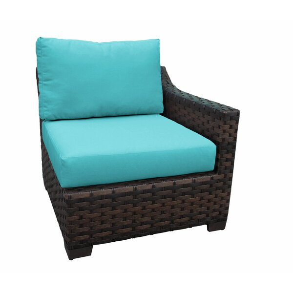 Wiese Patio Chair with Cushions by Alcott Hill
