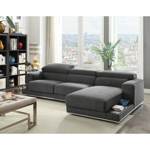Quinnes Adjustable Sectional by Orren Ellis