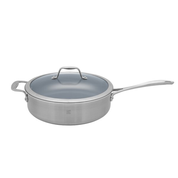 Spirit 5 Qt. Stainless Steel Ceramic Nonstick Saute Pan by Zwilling JA Henckels
