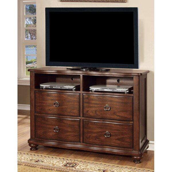 Review Fuson 4 Drawer Double Dresser