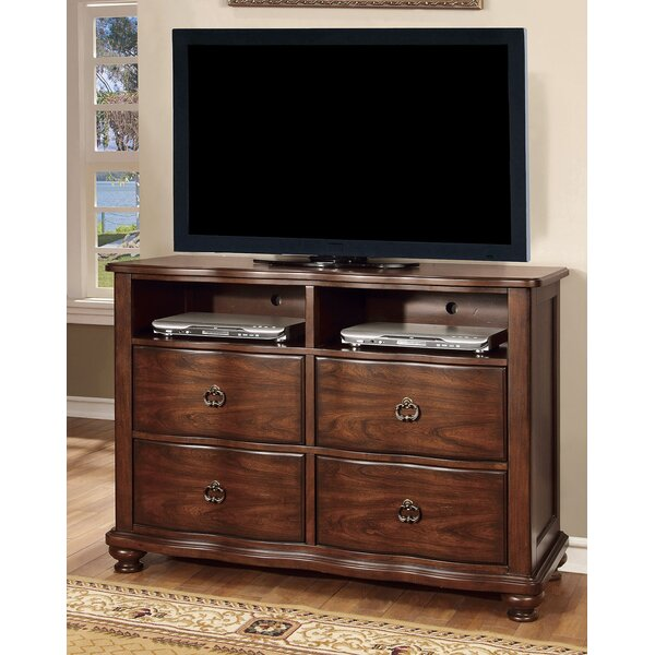 Low Price Fuson 4 Drawer Double Dresser