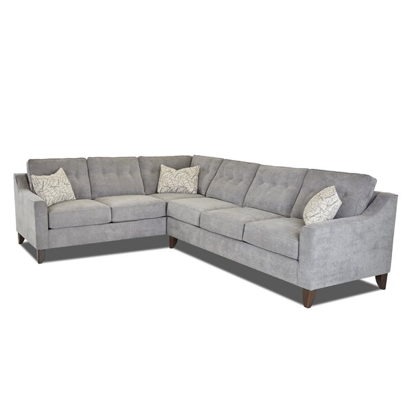 Large L-Shaped Sectional by Wayfair Custom Upholstery Wayfair Custom Upholstery™