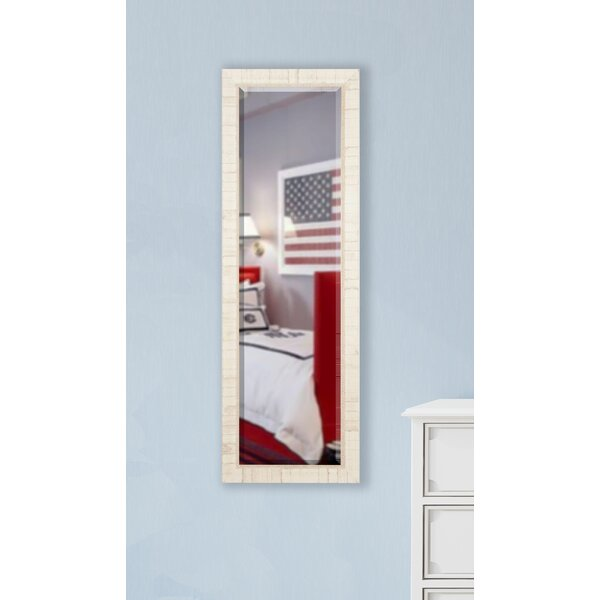 Benton Tuscan Ivory Full Length Beveled Body Mirror by Rosecliff Heights