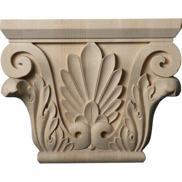 Chesterfield 8 7/8H x 11W x 3 7/8D Large Capital by Ekena Millwork