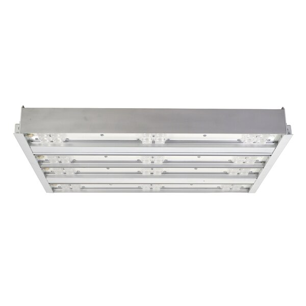 4 Bar Wide lens LED Highbay by NICOR Lighting