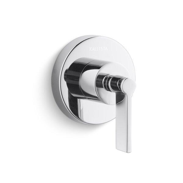 One Volume Control Faucet Trim by Kallista