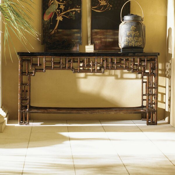 Royal Kahala Mystic Console Table by Tommy Bahama Home