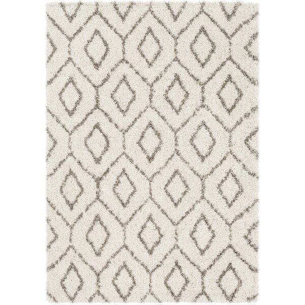 Chronister Geometric Taupe Area Rug by Wrought Studio
