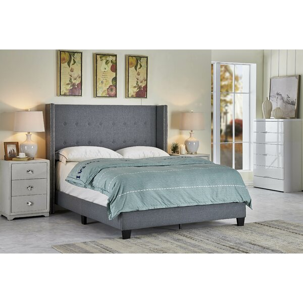 Manzano Upholstered Standard Bed by Orren Ellis