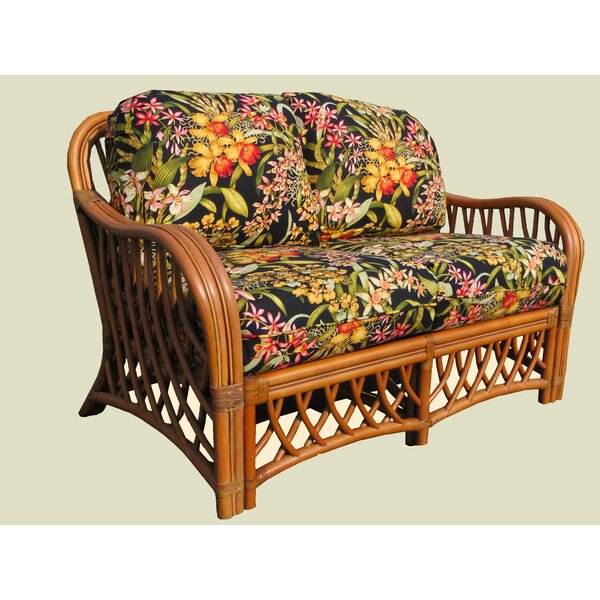 Best Of The Day Montego Bay Loveseat by Spice Islands Wicker by Spice Islands Wicker