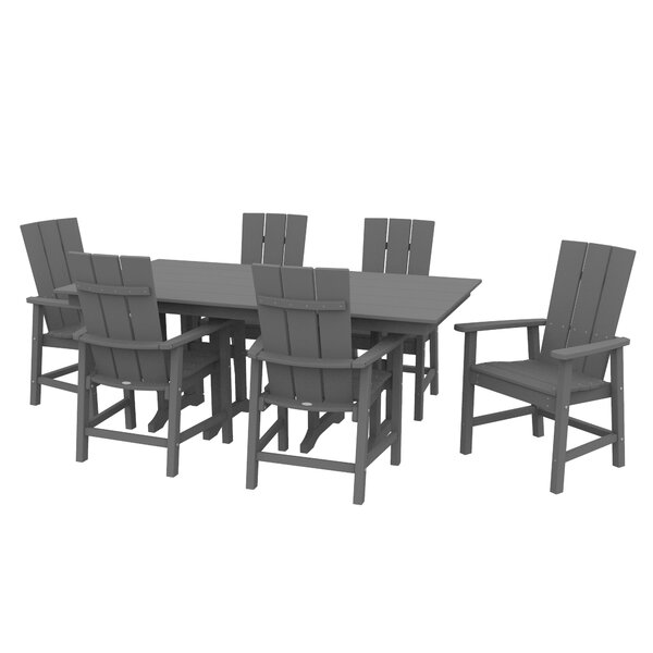 Polywood® Traditional 7 Piece Dining Set by Sol 72 Outdoor