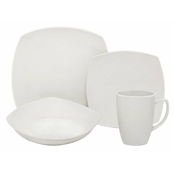 Dalzell Square 18 Piece Dinnerware Set, Service for 6 by Orren Ellis