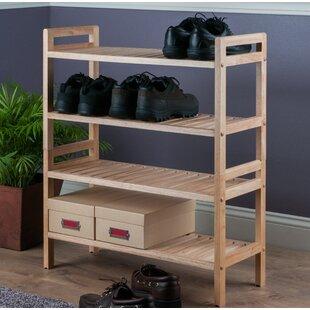 Wayfair Rack Solid Wood Shoe Storage You Ll Love In 2021
