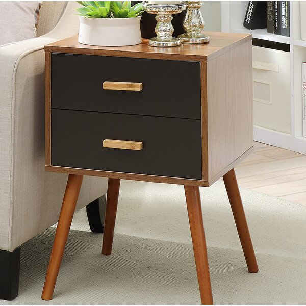 Creenagh 2 Drawer End Table by Langley Street