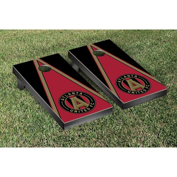 MLS Atlanta United FC Triangle Version Cornhole Game Set by Victory Tailgate