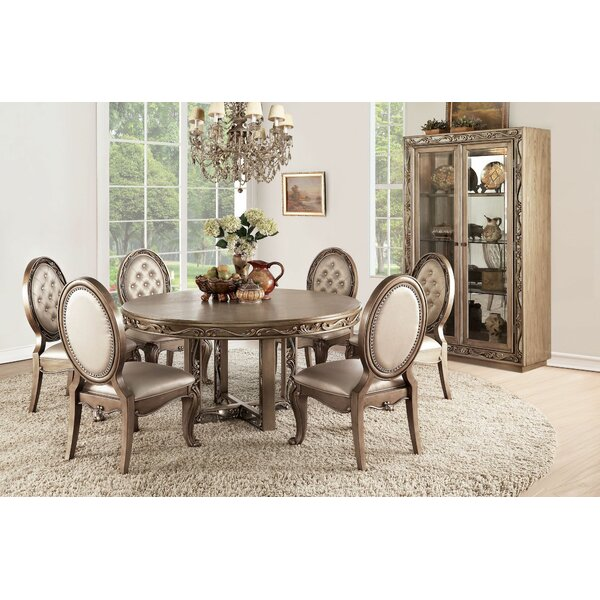 #1 Tammy 7 Pieces Dining Set By House Of Hampton Cheap
