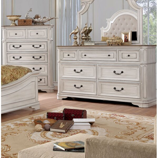 Miah 7 Drawer Double Dresser by Rosdorf Park