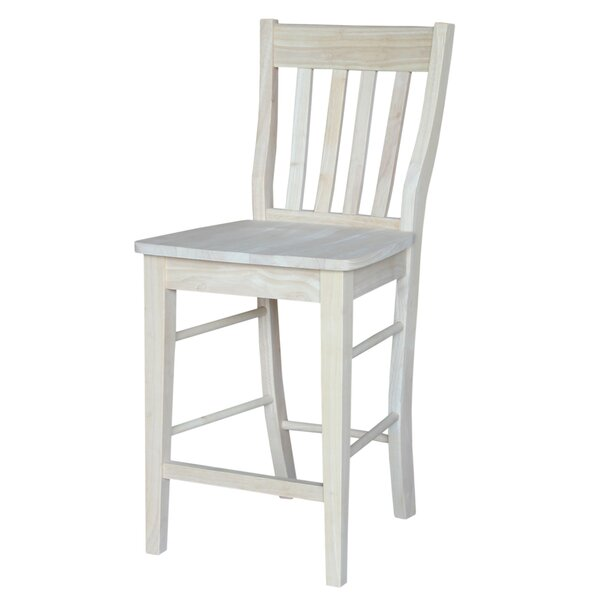 Keswick 23.8 Bar Stool by Rosecliff Heights