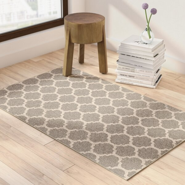 Moore Gray Area Rug by Charlton Home