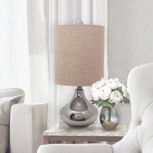 Price comparison Korando Glass 19 Table Lamp By Ophelia & Co.