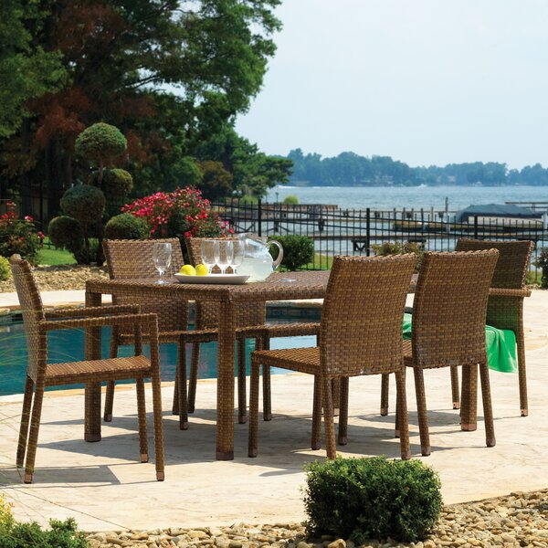 St Barths 7 Piece Dining Set by Panama Jack Outdoor