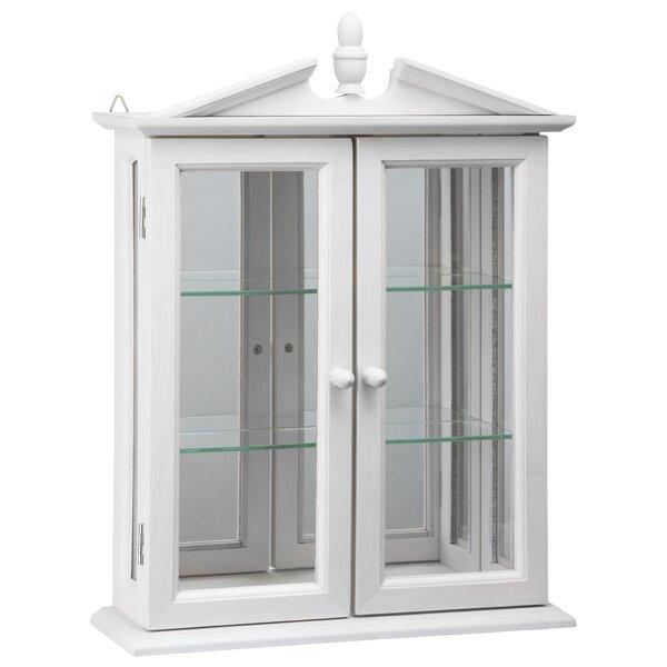Amesbury Manor Hardwood Wall Curio Cabinet by Design Toscano Design Toscano