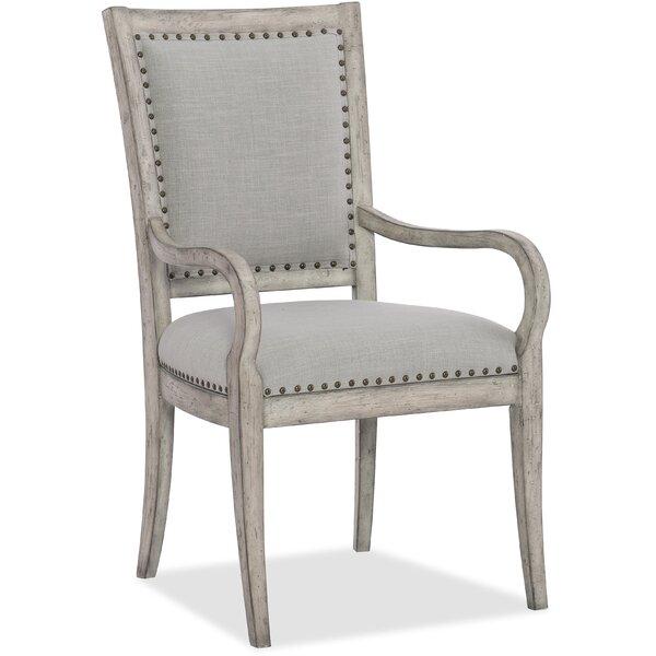 Boheme Upholstered Dining Arm Chair (Set of 2) by Hooker Furniture Hooker Furniture
