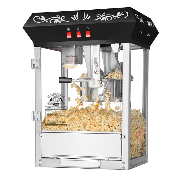 8 Oz. Movie Night Countertop Popcorn Popper Machine by Superior Popcorn Company
