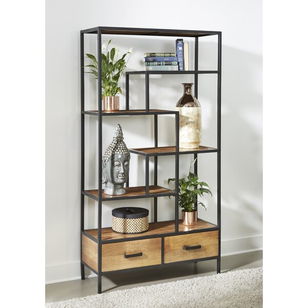 Kellyville Geometric Bookcase By Foundry Select