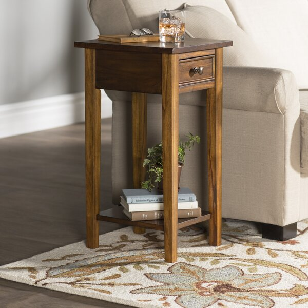 Anawan End Table With Storage By Alcott Hill
