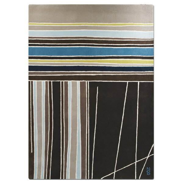 Meridian Striped Rug by Focus One Home